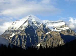 Spectacular Mount Robson, near Tête Jaune Cache in B.C.